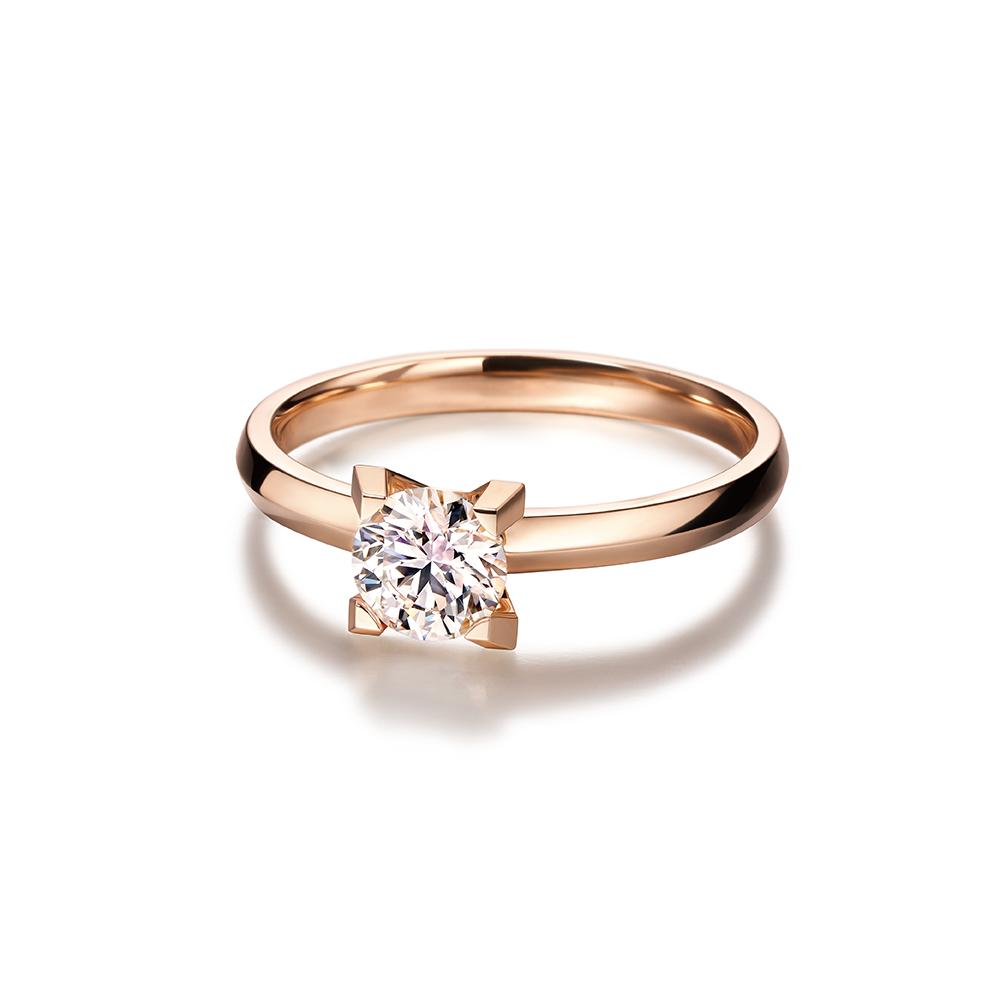 Hexicon 18K Gold Diamond Ring (Basic Setting)