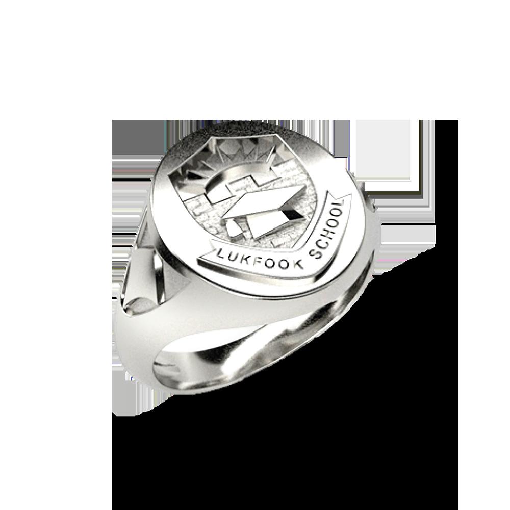 校徽图案毕业戒指(可定制)