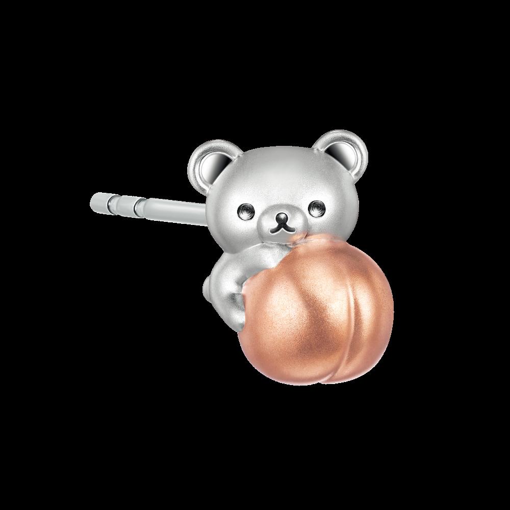 Rilakkuma™ Collection Korilakkuma 18K Gold Earring