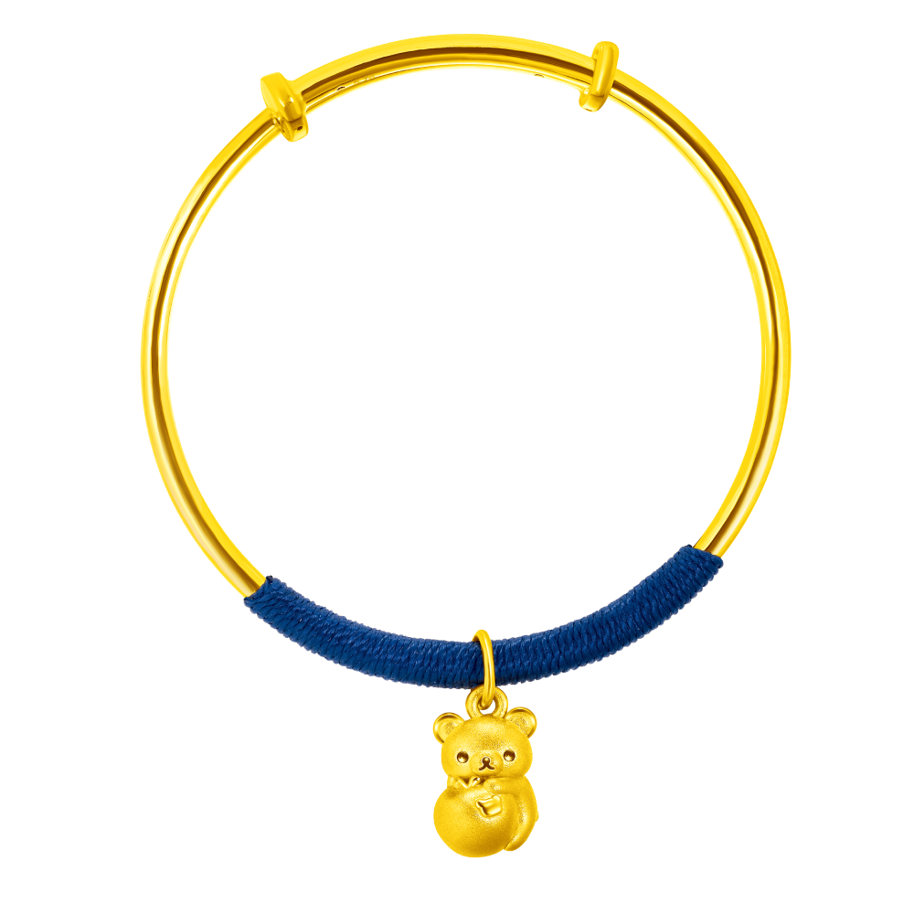 Rilakkuma™ Collection Rilakkuma™ & Peach Gold Bangle