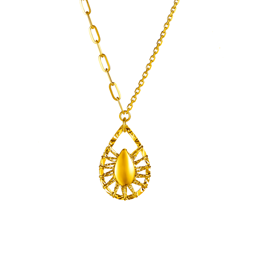 Goldstyle爱的守护项链