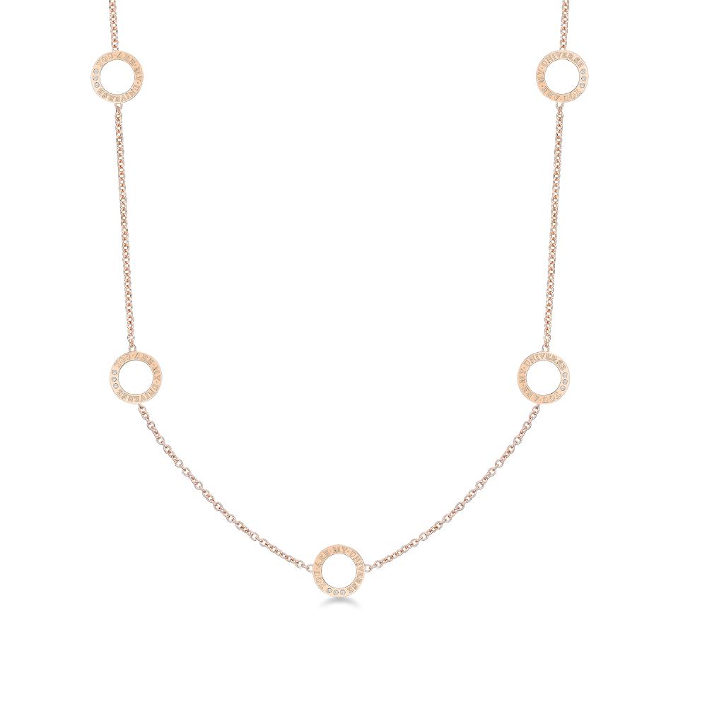 DIRCE Orbite–V 钻石项链