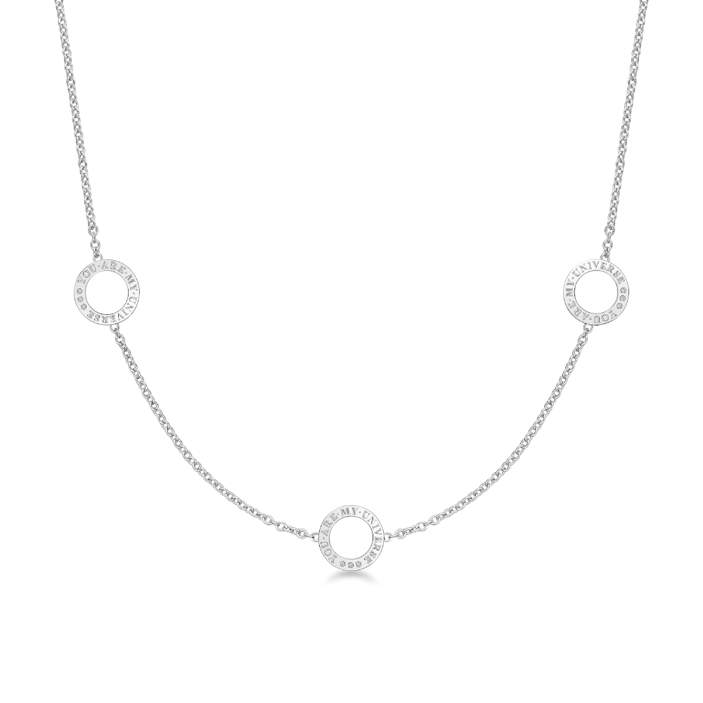 DIRCE Orbite–III 钻石项链