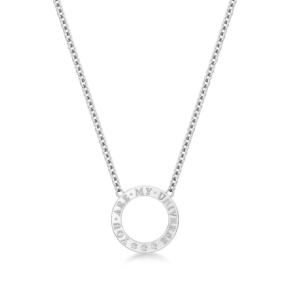 DIRCE Orbite– I 钻石项链
