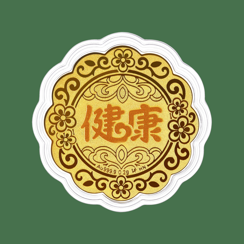 """""""七星伴月""""健康黃金工藝品"""